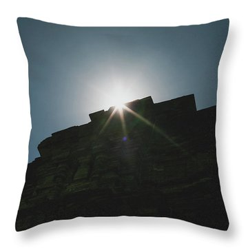 poshanu Tower Throw Pillow