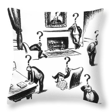 Presidential Campaign, 1948 Throw Pillow by Granger