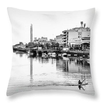 Throw Pillow featuring the photograph Puerto De Santa Maria Cadiz Spain by Pablo Avanzini