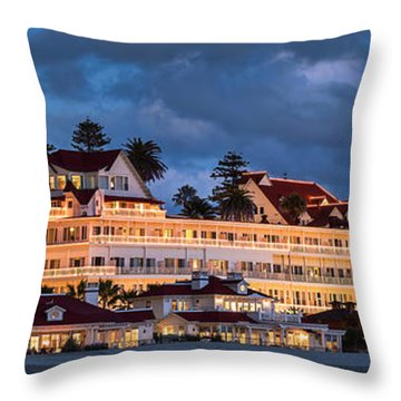 Throw Pillow featuring the photograph Pure And Simple Pano 60x20 by Dan McGeorge