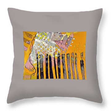Red Series 4 Throw Pillow