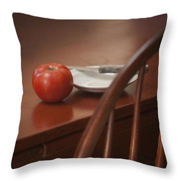 Ripe Tomato II Throw Pillow