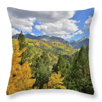 Throw Pillow featuring the photograph Road To Sunshine Mesa by Ray Mathis