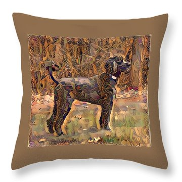 Rudy Throw Pillow