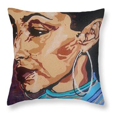 Sade Adu Throw Pillow