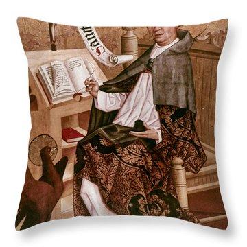 Saint Augustine (354-430) Throw Pillow by Granger