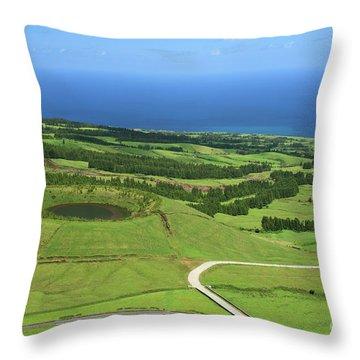 Sao Miguel - Azores Throw Pillow by Gaspar Avila