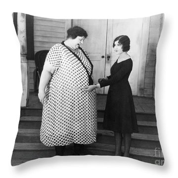 Silent Still: Weight Throw Pillow by Granger