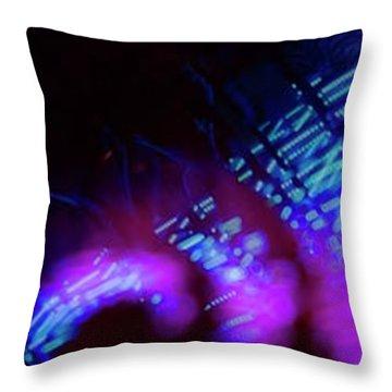 Singapore Night Urban City Light - Series - Your Singapore Throw Pillow