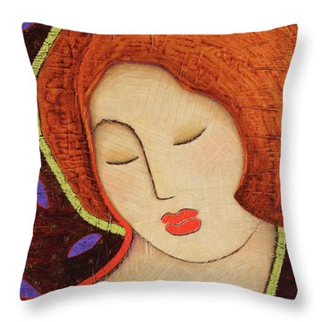 Soul Memory Throw Pillow by Gloria Rothrock