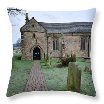 St. Agatha's Throw Pillow