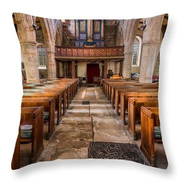 St. Marys Church Throw Pillow