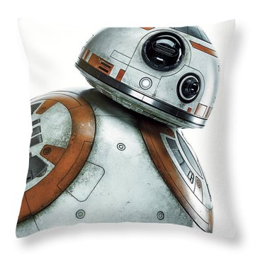 Star Wars Episode Vii - The Force Awakens 2015 Throw Pillow