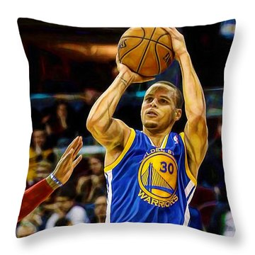 Steph Curry Collection Throw Pillow