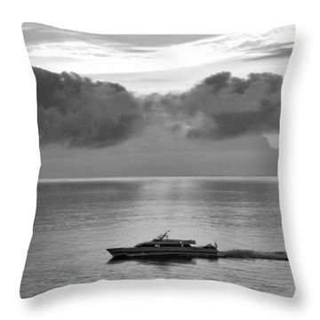 Storm Coming Throw Pillow by Helen Haw
