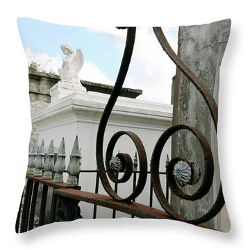 Protection Of The Lost Throw Pillow