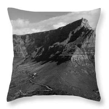 Table Mountain - Cape Town Throw Pillow