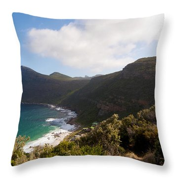 Table Mountain National Park Throw Pillow by Fabrizio Troiani