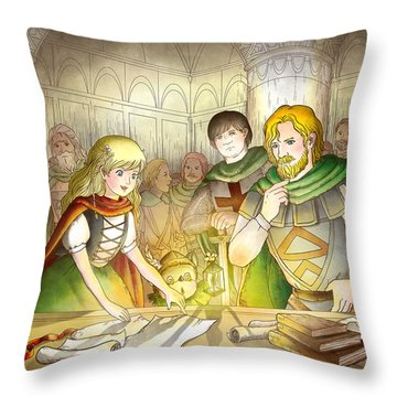 The Articles Of The Barons Throw Pillow