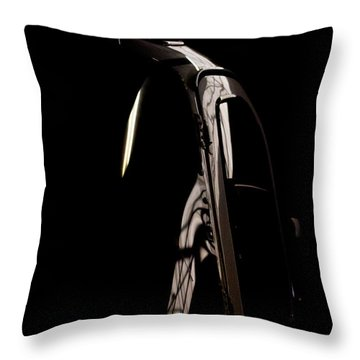 Throw Pillow featuring the photograph The Door by Paul Job