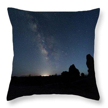 The Milky Way Throw Pillow