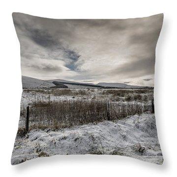 The Ochil Hills Throw Pillow