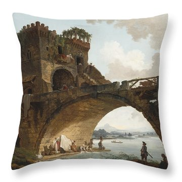 The Ponte Salario Throw Pillow