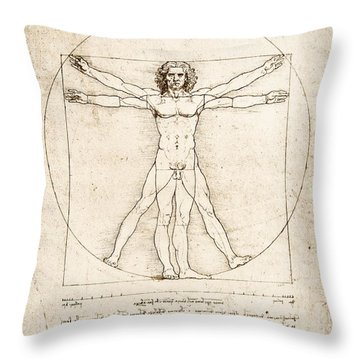 Nudes Throw Pillows