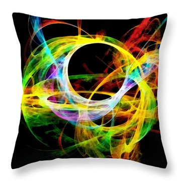 The Quest Throw Pillow