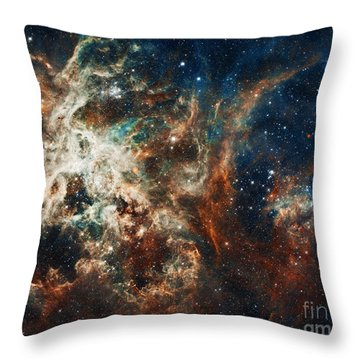 The Tarantula Nebula Throw Pillow