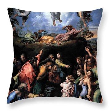 The Transfiguration Throw Pillow