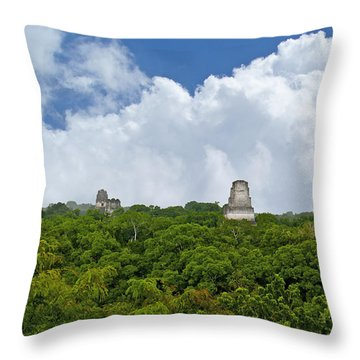 Tikal, Guatemala Throw Pillow