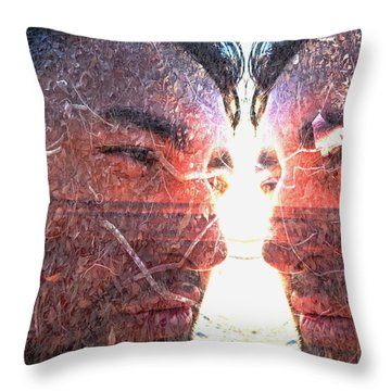 Throw Pillow featuring the photograph Totem by Beto Machado