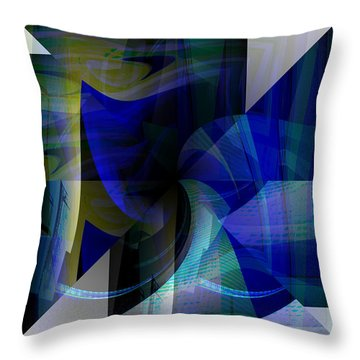 Transparency 4   Throw Pillow by Thibault Toussaint