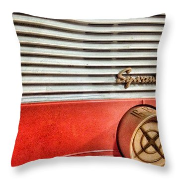 Tuning In Throw Pillow by Olivier Calas