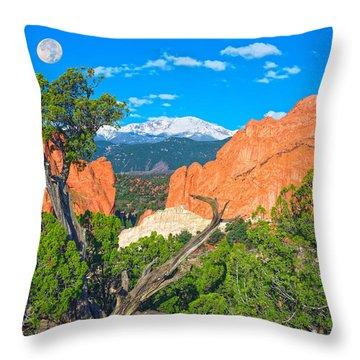 Typical Colorado  Throw Pillow