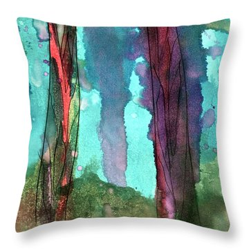 Underwater Beauty Throw Pillow