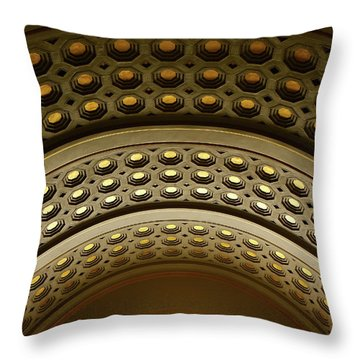 Union Station Dc Throw Pillow