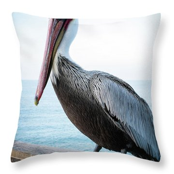 Untitled Throw Pillow by Catherine Lau