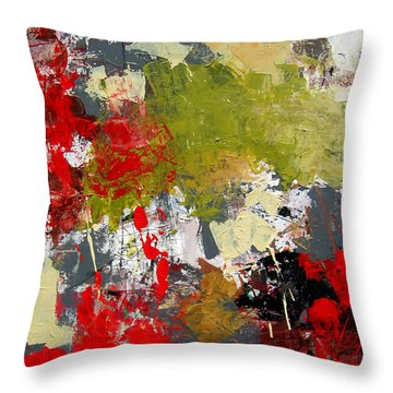 Untitled Throw Pillow by Diane Desrochers
