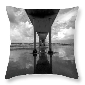 Untitled Throw Pillow by Ryan Weddle