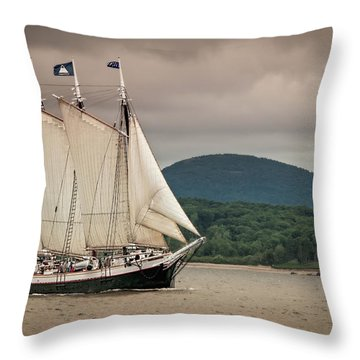 Victory Chimes Throw Pillow by Fred LeBlanc