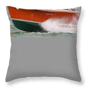 Vintage Riva Throw Pillow