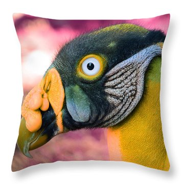 Vulture Throw Pillow