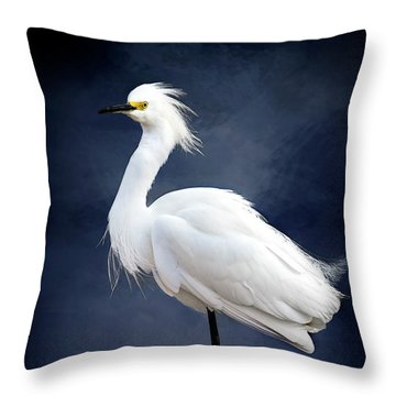 Wading Throw Pillow