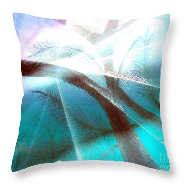 Wake Up In The Forest Throw Pillow