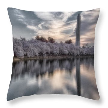 Washington Sunrise Throw Pillow