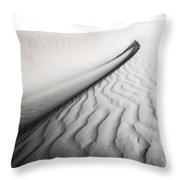 Wave Theory Vi Throw Pillow