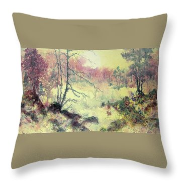 Woods And Wetlands Throw Pillow