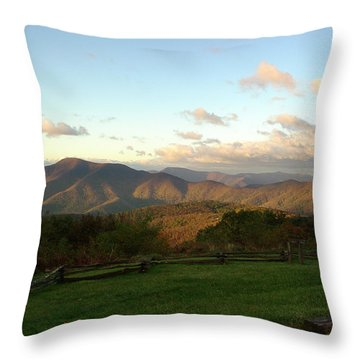 Kevin Blackburn Nature Photography Throw Pillow